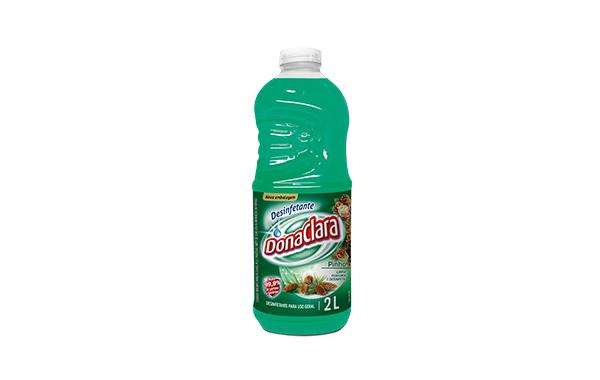 Desinfetante com cheiro