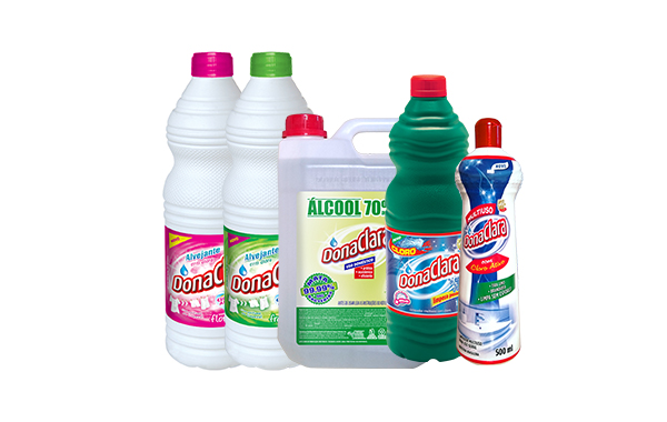 Fábrica de material de limpeza